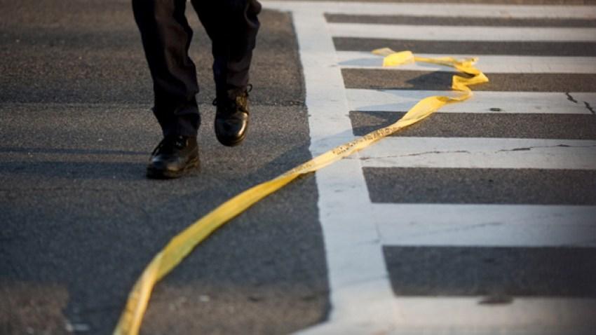 Police tape crime generic