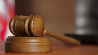 A court gavel