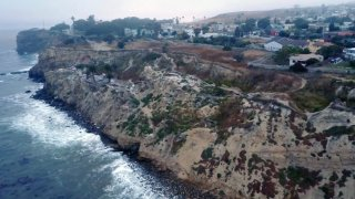 Sunken City From Above