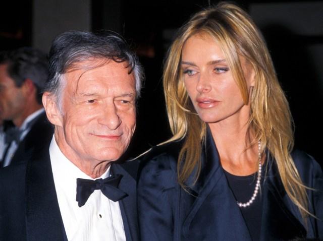 The Playboy Gallery: Hef and All His Girlfriends – NBC4 ... |Hugh Hefner Twin Girlfriends