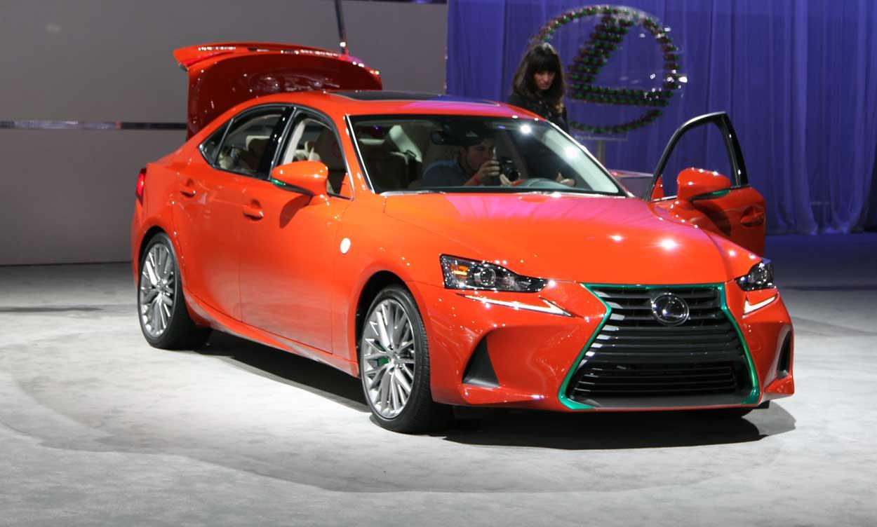 Lexus Los Angeles >> La Auto Show Images Sriracha Infused Lexus Nbc Los Angeles