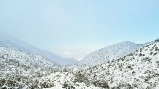11-29-2019 Snow between Victorville and Big Bear