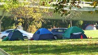 110315 homeless tent camp