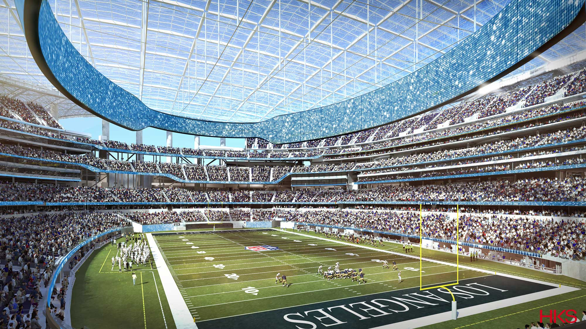 La Rams Stadium Development In Inglewood Nbc Los Angeles