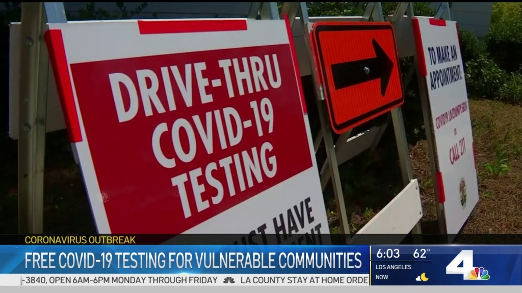 Carson Offers Free Coronavirus Tests For All Residents Nbc Los Angeles
