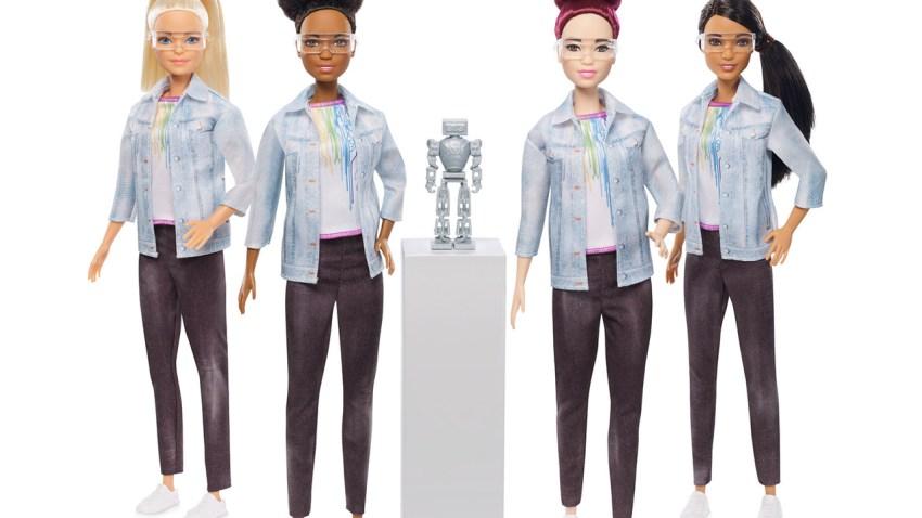 barbie mattel robotics engineer tynker stem
