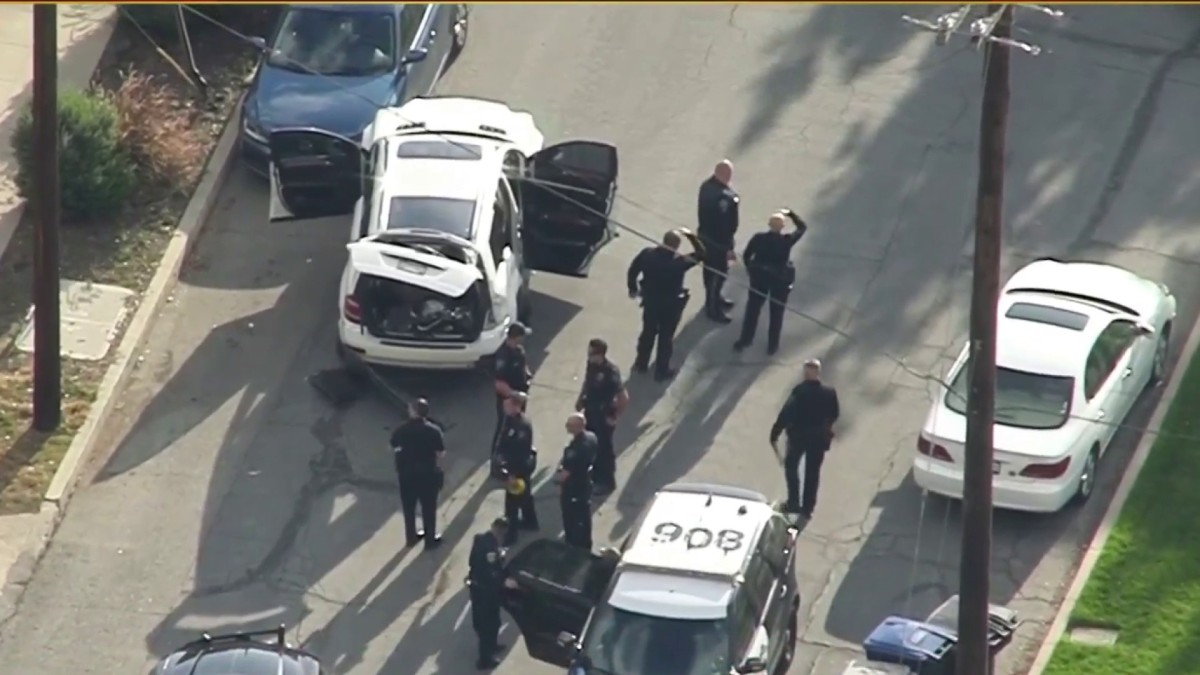 High speed chase ends in crash in Richmond [Video]