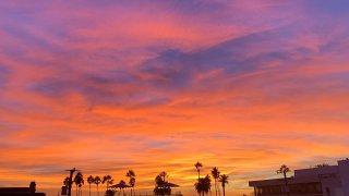 [UGCLA-CJ-sunrises and sunsets]Santa Monica Sunset