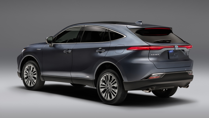 The 2021 Venza Crossover