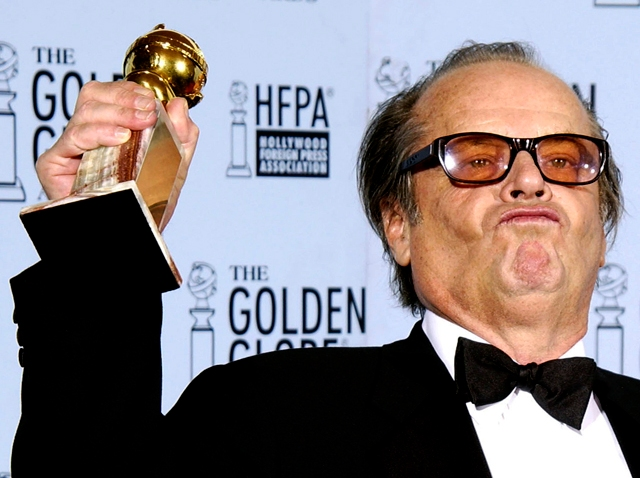 2003 Golden Globe Moment Nicholson