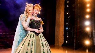 4-Duo- Caroline Bowman as Elsa and Caroline Innerbichler as Anna photo by Matthew Murphy for MurphyMade