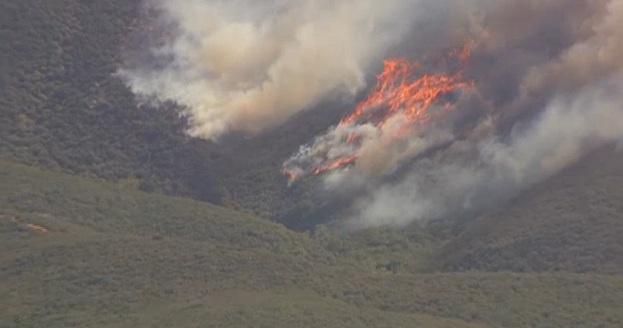 432 fire rancho cucamonga smoke