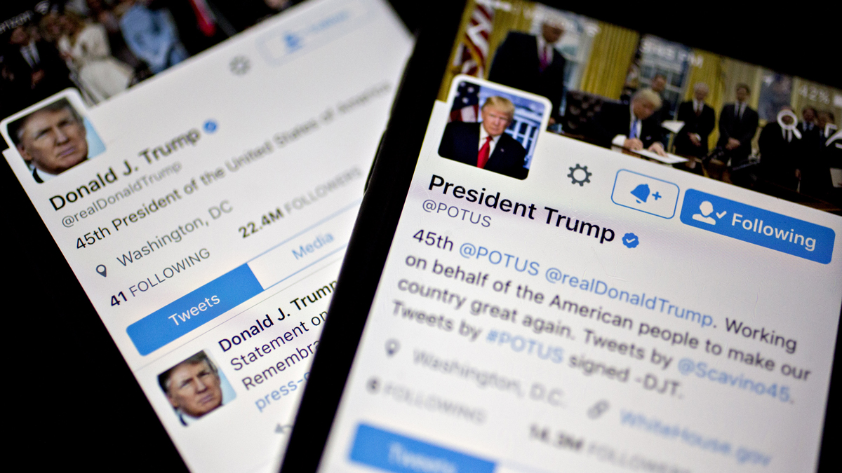 Trump, Biden Fight for Primacy on Social Media Platforms 1