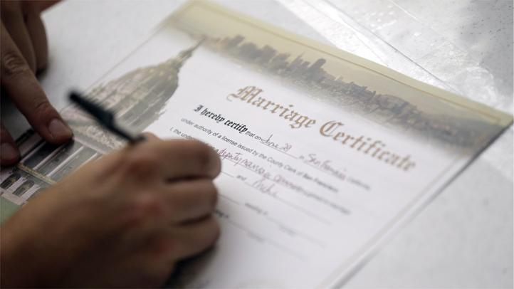 Gay Marriage certificate genericsla
