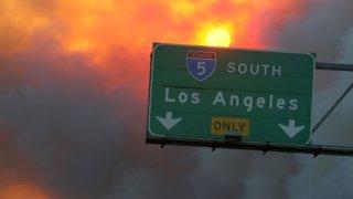 2007 CA Wildfires