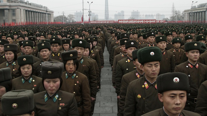 North Korea Nuclear Rally