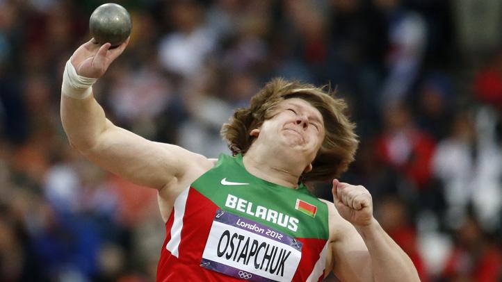 London Olympics Doping Ostapchuk