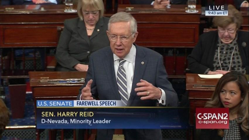 Senate Reid Farewell