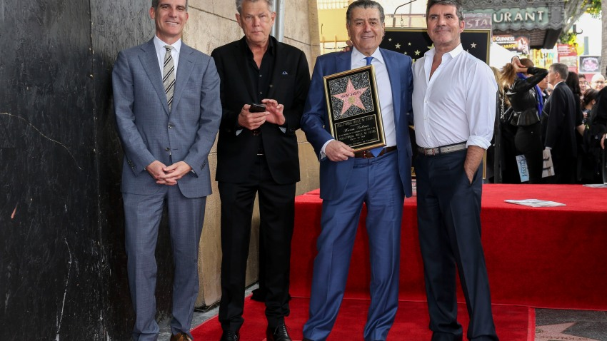 Haim Saban Honored with a Star on the Hollywood Walk of Fame