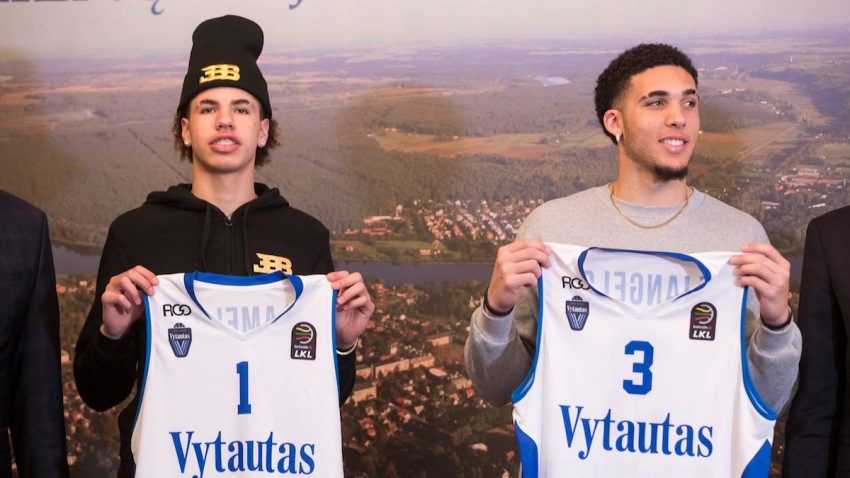 Lithuania Ball Brothers Basketball