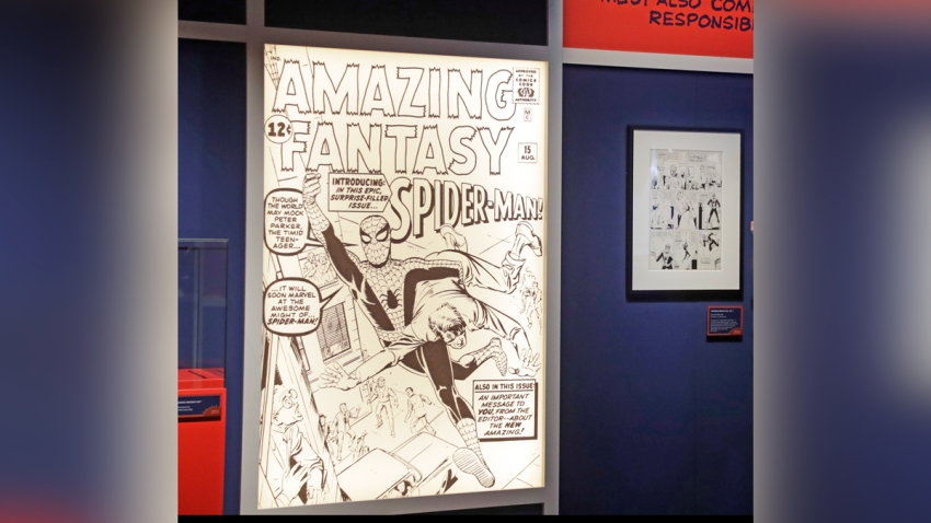 Marvel MoPOP Exhibit