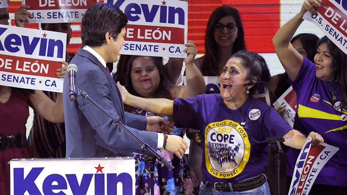 Former State Sen. De Leon Avoids Runoff in LA City Council Race 1