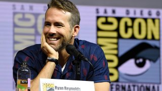 """In this July 21, 2018, file photo, Ryan Reynolds attends the """"Deadpool 2"""" panel on day three of Comic-Con International in San Diego."""