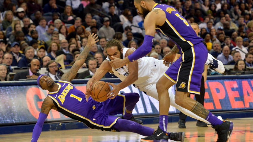 Lakers Fall to Grizzlies