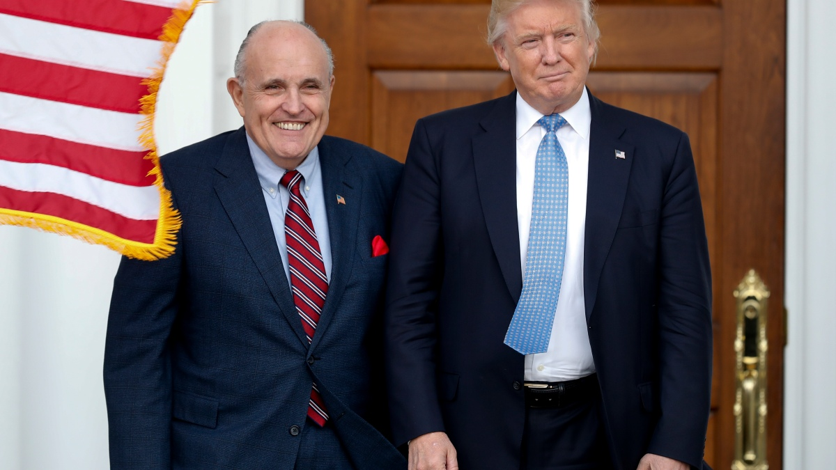 Giuliani Sought Private Meeting With Ukrainian President, Documents Show 1