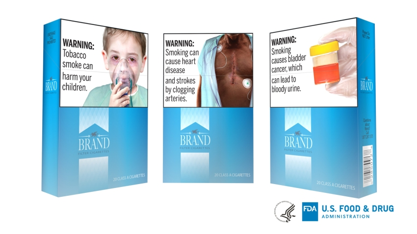 Cigarettes Graphic Warnings