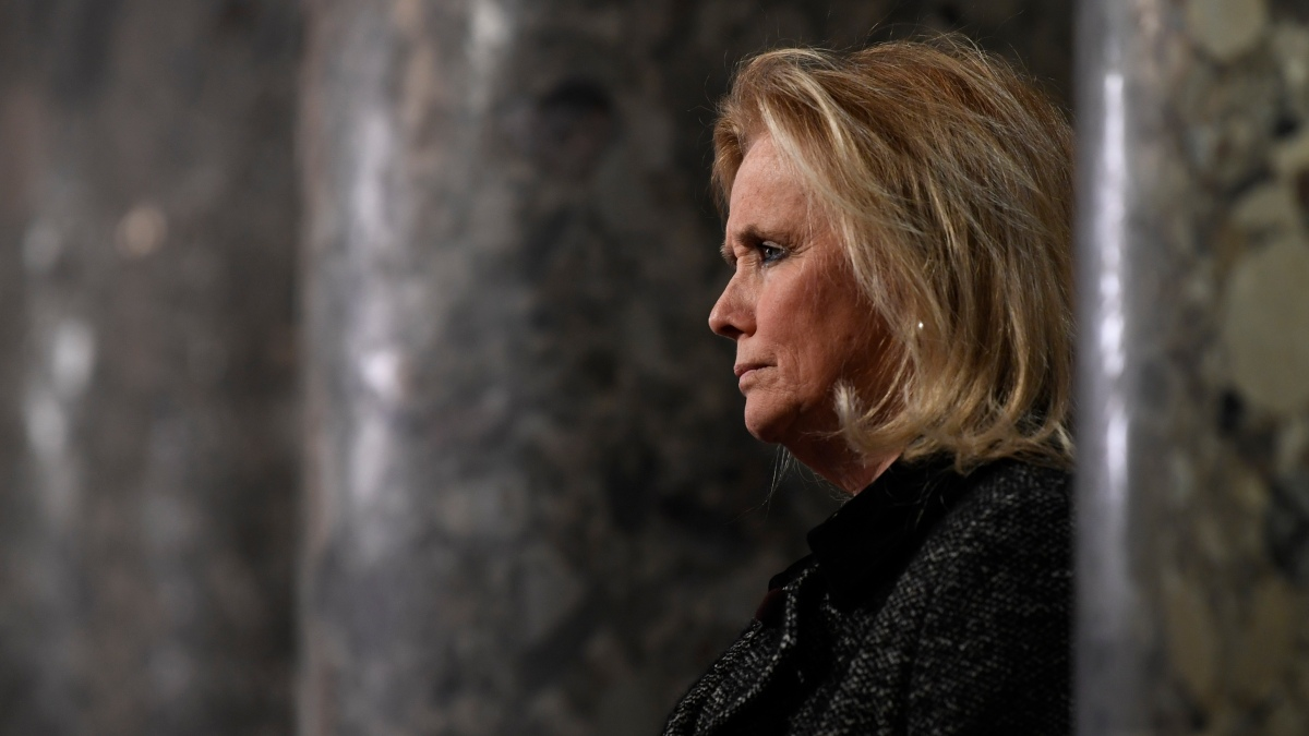 'Hurtful': Michigan Rep. Dingell Decries Trump's Hell Crack About Her Late Husband 1