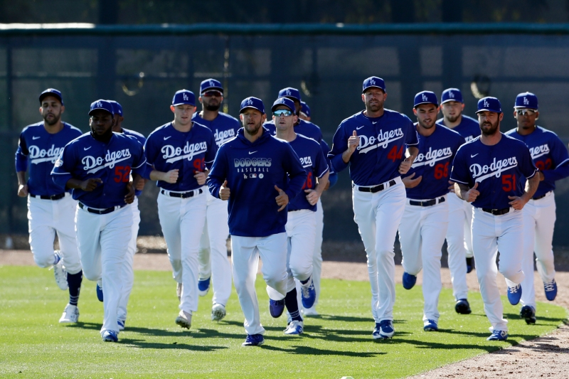 Photos: Dodgers Kick Off Spring Training 2020 in Arizona