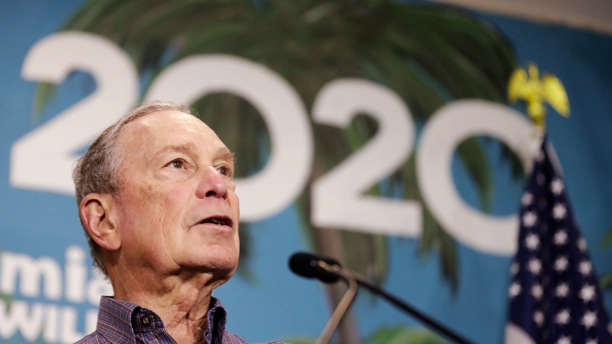 Mike Bloomberg Ends Campaign, Endorses Biden for President 1