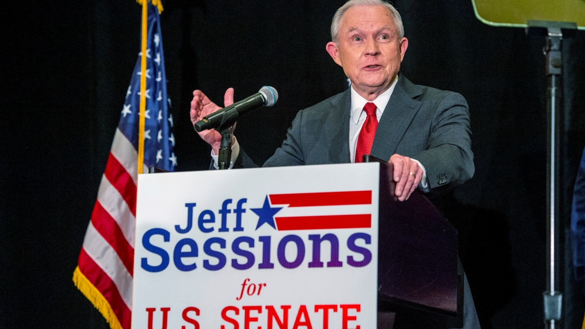 Jeff Sessions Forced Into Runoff in Alabama Senate GOP Race 1