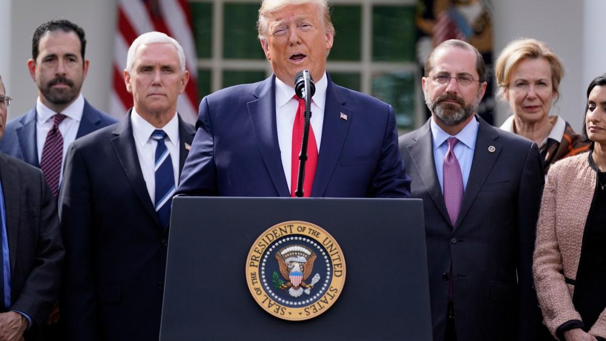 Trump Declares Coronavirus Emergency, Supports Aid Package 1