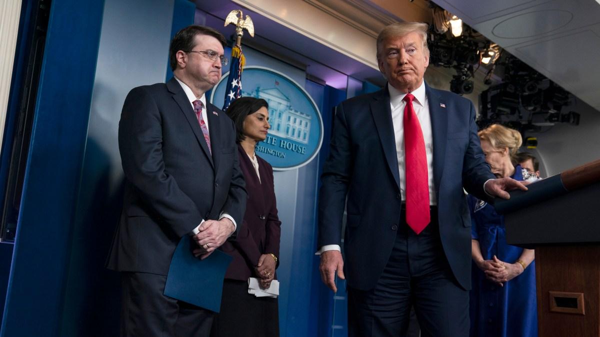 Trump Taps Powers to Boost Coronavirus Response; Signs Bill 1