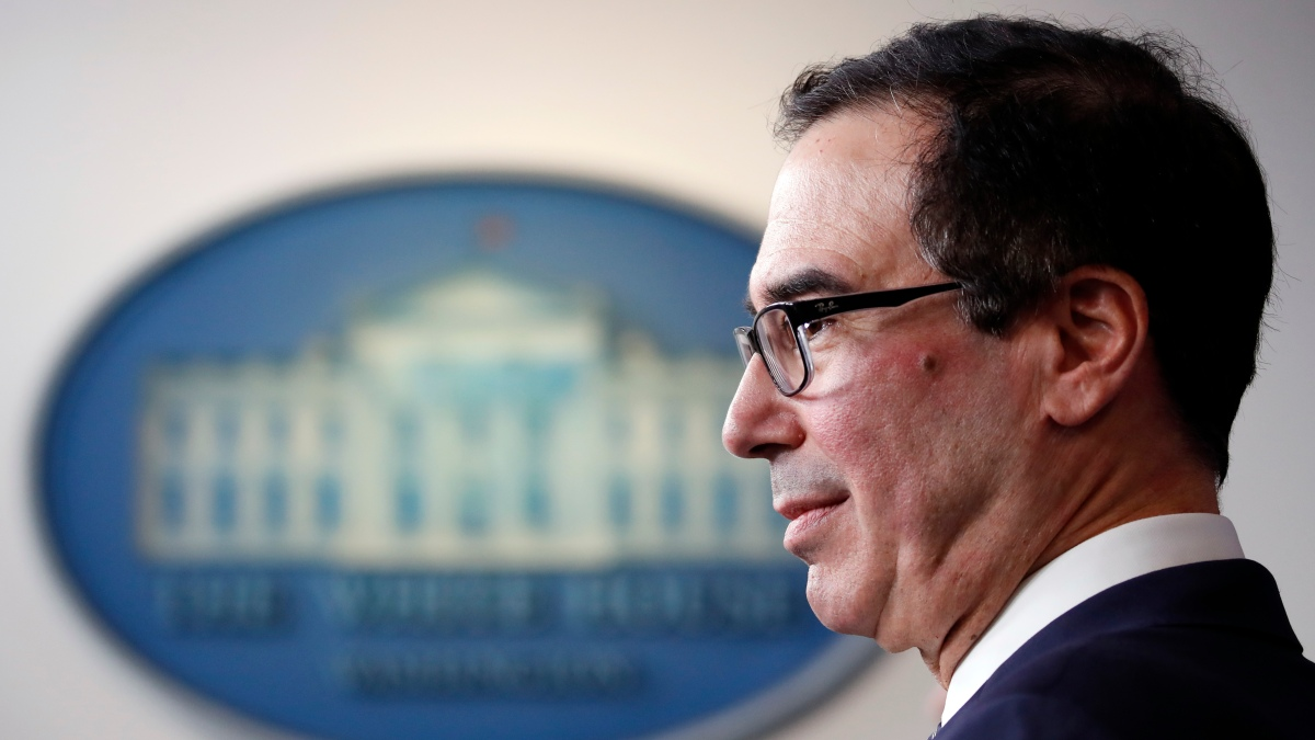 Lawmakers Urge Mnuchin to Stop Debt Collectors From Seizing Direct Payments 1