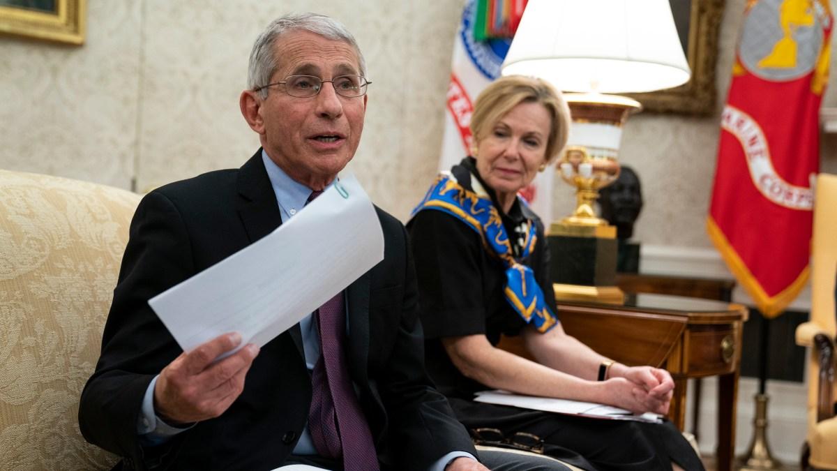 White House to Wind Down Coronavirus Task Force 1