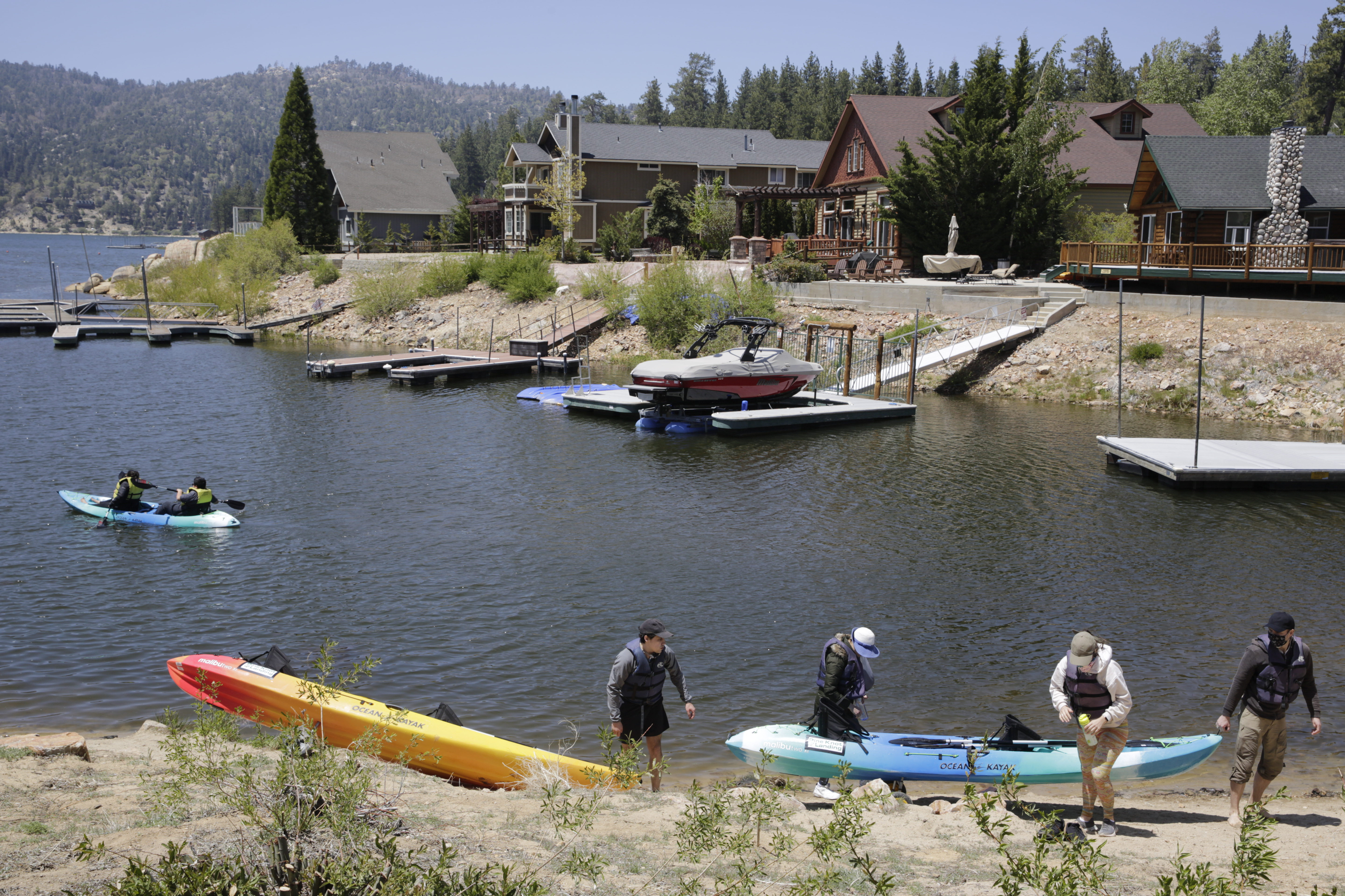 City of Big Bear Lake to Stop Enforcing State's Coronavirus Restrictions