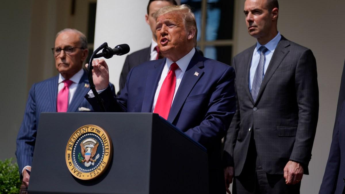 Trump Hails Jobs Report, But Unemployment Rate Still High 1