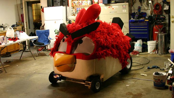 Angry Bird Droppings