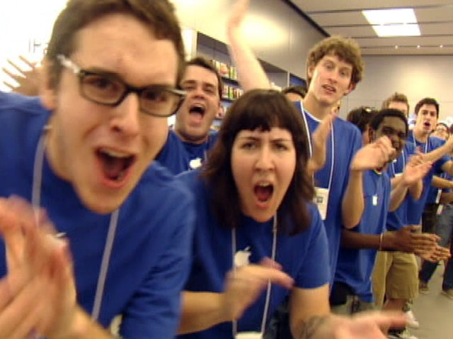 Apple Store Philly Opening