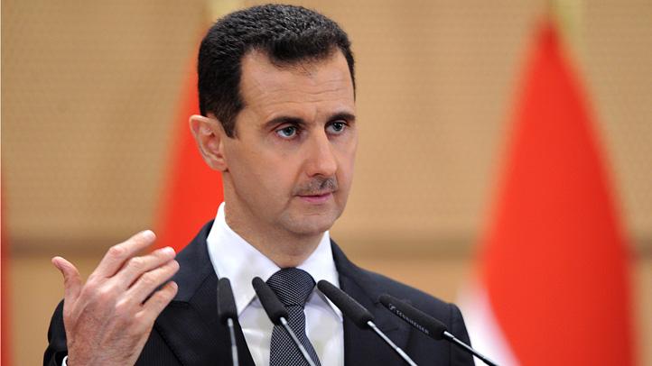 Assad stock photo