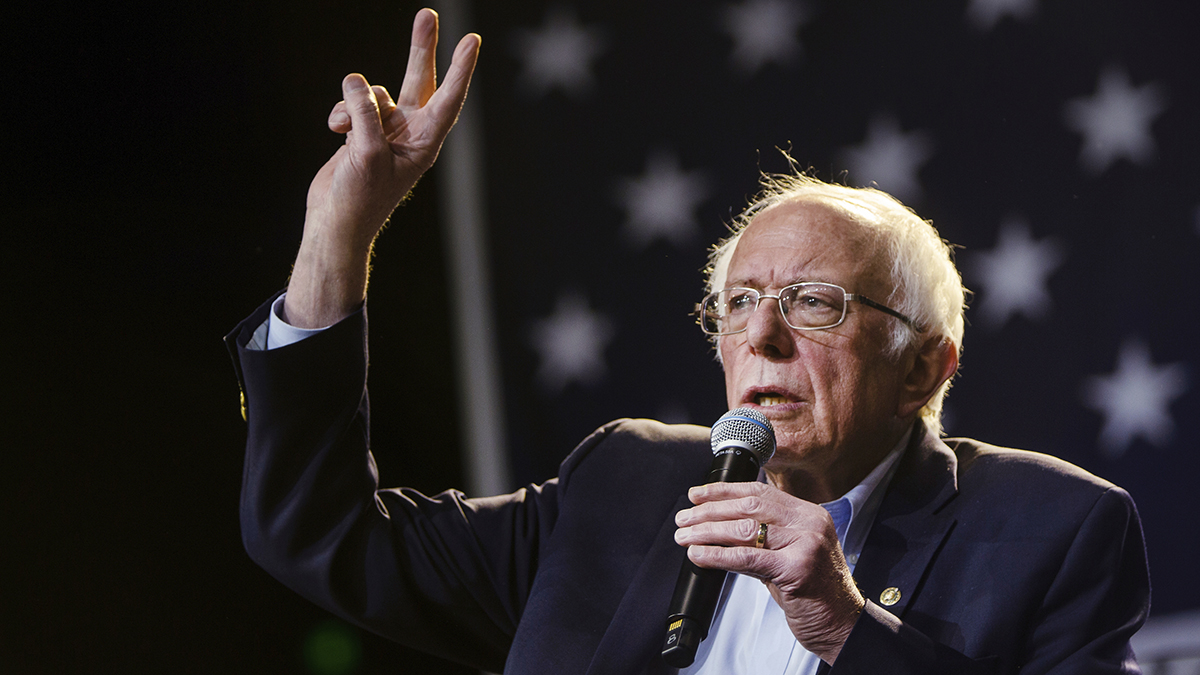 Sanders Wins Delegate-Rich California, NBC News Projects 1