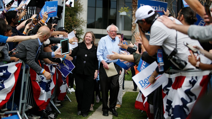 Election 2020 Bernie Sanders Supporters