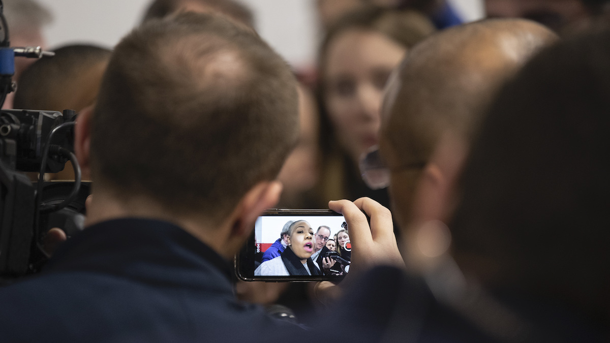 Biden Virtual Town Hall Marks New Normal for Campaigning 1