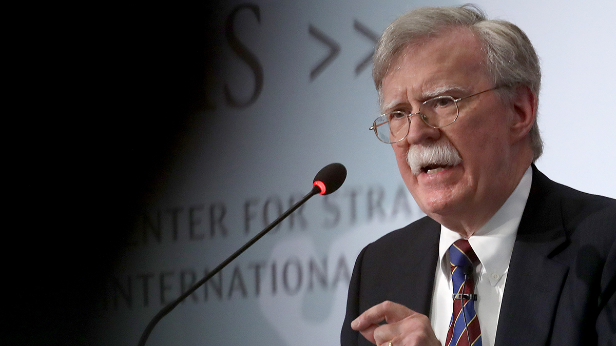 Bolton Says Trump Tied Ukraine Funds to Probe, Sources Say 1