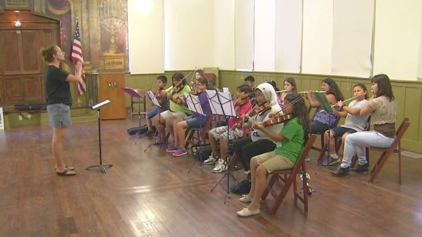 Boyle Heights youth orchestra 7-13-15