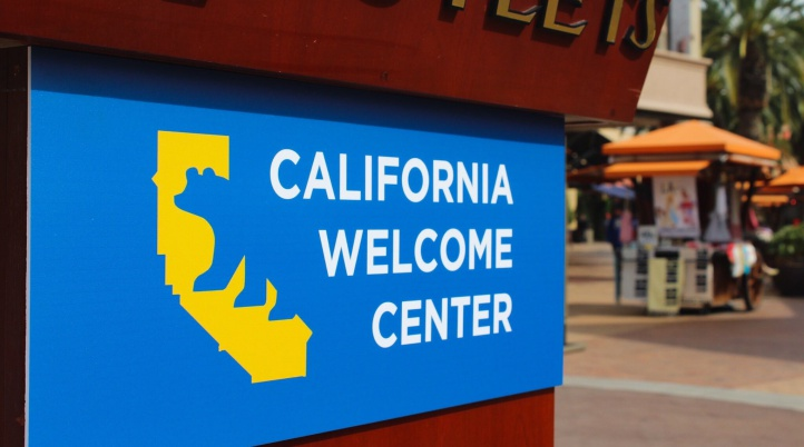 California Welcome Center at Citadel Outlets exterior. (1)