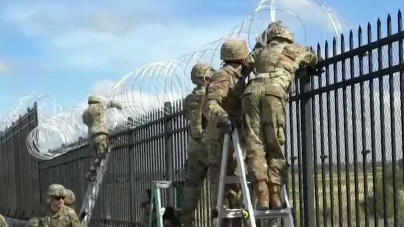 California_Governor_to_Draw_Down_Guard_Troops_at_Border